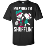 Snoopy & Charlie Brown Shufflin' Shirt