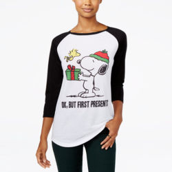 Click to shop Peanuts Christmas Shirts at Macy's and support our site.