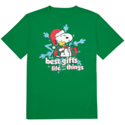 Click to shop Peanuts Christmas Shirts at The Lighter Side and support our site.