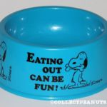 Peanuts Determined Productions Dog Dishes