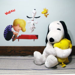 Close-up of Peanuts Wall Decals by Wall-Ah!Close-up of Peanuts Wall Decals by Wall-Ah!