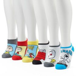 Click to shop Peanuts Socks at Kohl's and support our site.