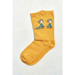 Click to shop Peanuts Socks at Urban Outfitters and support our site.