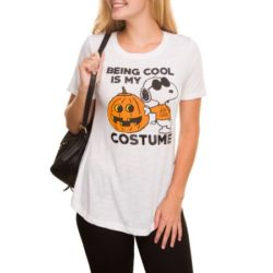 Click to shop Peanuts Halloween Shirts at Walmart and support our site.