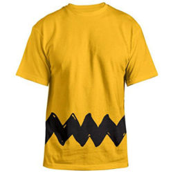 Click to shop Peanuts Halloween Apparel at Amazon and support our site.